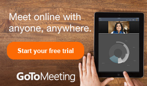Try GoToMeeting free for 30 days | www.gotomeeting.com.